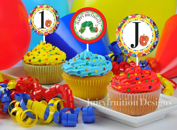 The Very Hungry Caterpillar 2 DIY Personalized by Juicyfruition, $6.00