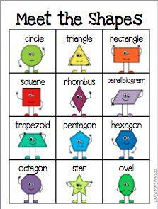 Classroom Freebies Too: Shape Reference