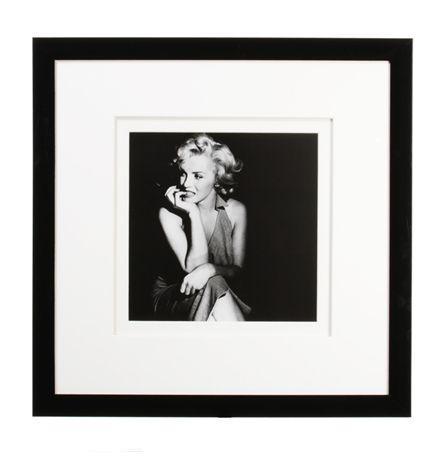 Marilyn Monroe Sitting Framed Print - 58 x 58  main image