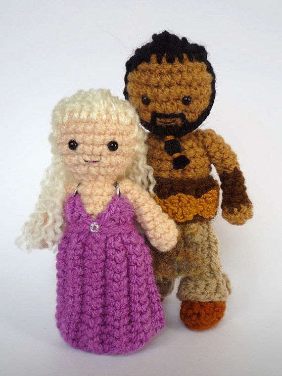 Crocheted Game of Thrones Dolls, @Emily Schoenfeld ...