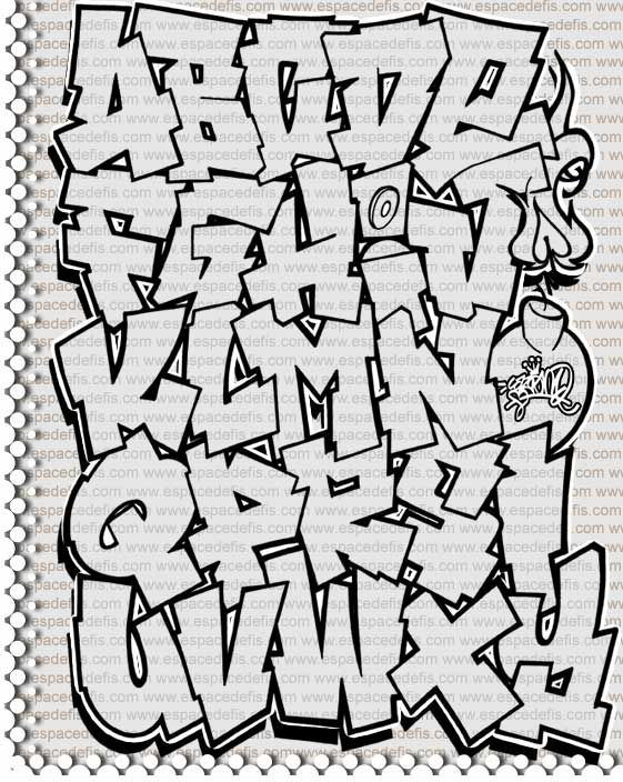 Abecedarios de graffitis – Letras de graffiti Abc ike Graffiti street art ? Check https://www.etsy.com/shop/urbanNYCdesigns?ref=hdr_shop_menu