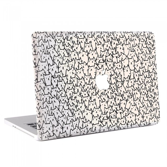 MacBook , Skin , Decal , Sticker , Cover , Laptop , Notebook , Apple ,Wrap skins ,Because Cat I MacBook Skin / Decal (KMB-0204)