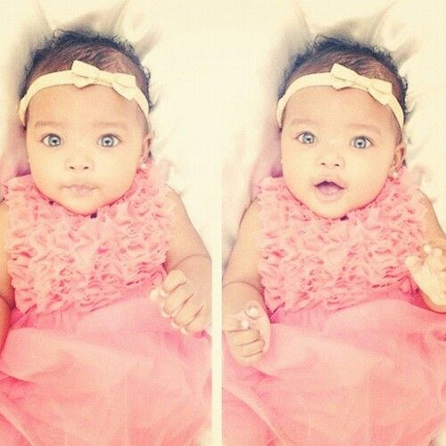 Most gorgeous baby ever! Can you blame me for wanting a mixed baby!!!!?