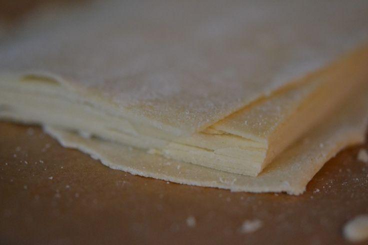 Fresh Gluten Free Lasagna Pasta how to with a pasta machine