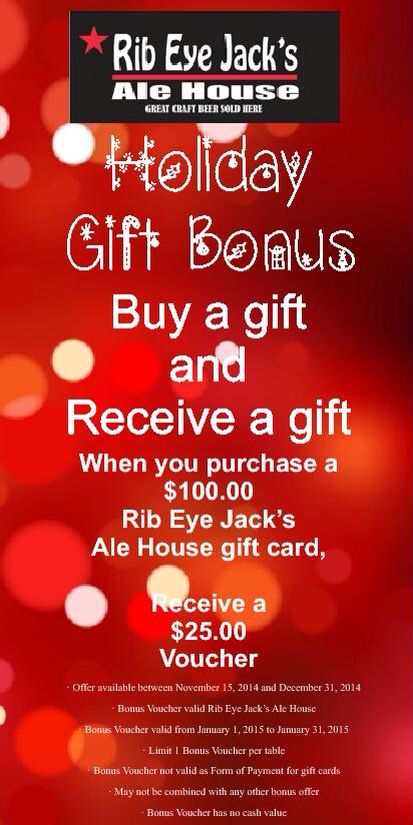 Holiday Gift Bonus