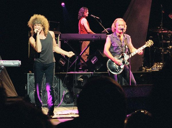 Lou Gramm, Jeff Jacobs & Mick Jones