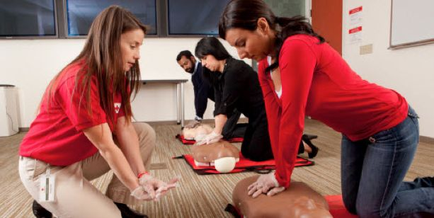 Get CPR Certified with the American Red Cross  image credit: http://redcross.org
