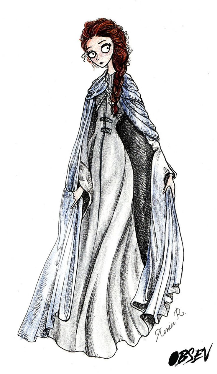 What Game of Thrones would look like if Tim Burton directed it: Sansa Stark