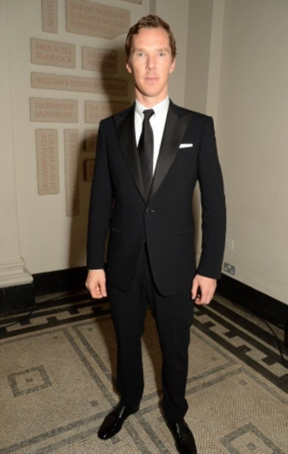 Benedict at The Letters Live Black Tie Gala Dinner Event London - 29th November 2016