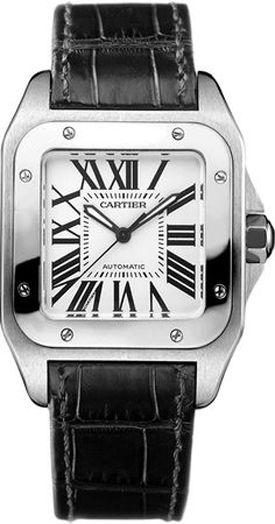 Santos de Cartier 100 Medium Women Luxury Watch