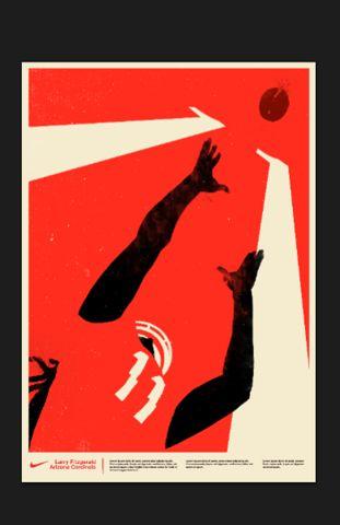 Nike: Fitzgerald Posters, Larry Fitzgerald, Posters Design, Nike Larry, Nike Football, Sports Graphics, Graphics Design, Colors Prints, Nike Posters