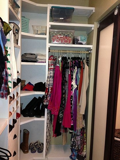 19 Best Images About Small Walk In Closet Ideas On Pinterest