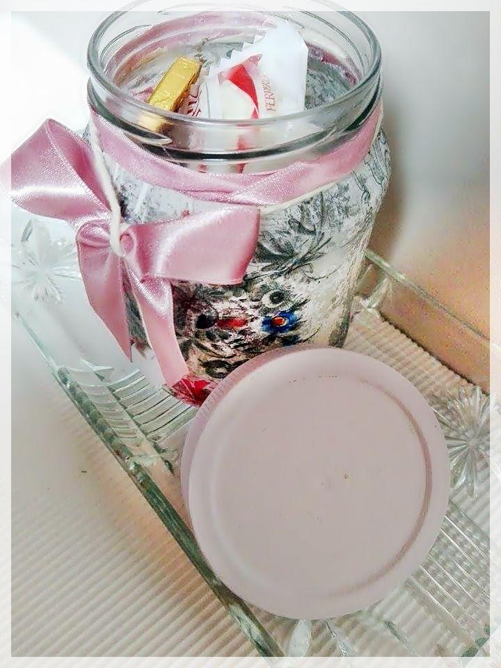 Befőttes üveg újrahasznosítása: http://kerekecskevilagocska.blog.hu/2017/01/03/romantikus_tarolo_befottes_uvegbol