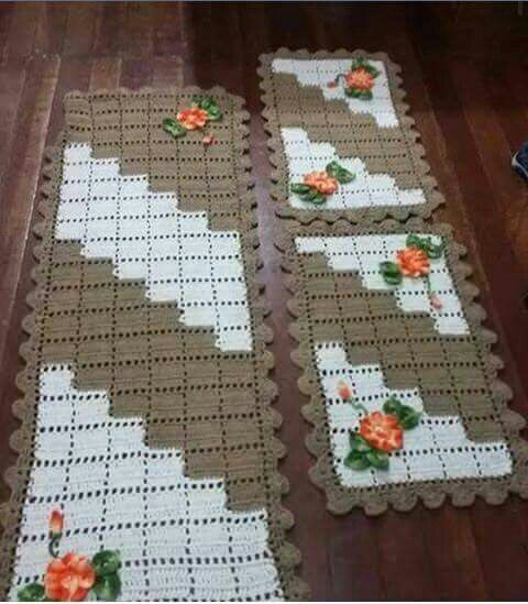 Beautiful table runners