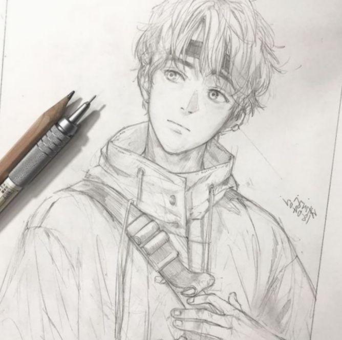 Anime Sketch Easy Boy Bokunoheroacademia Katsuki Bakugoucosplay Anime Sketch Anime Drawings Anime Character Drawing