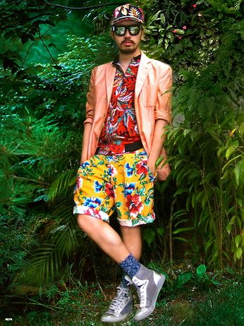 Tropical gangster.
