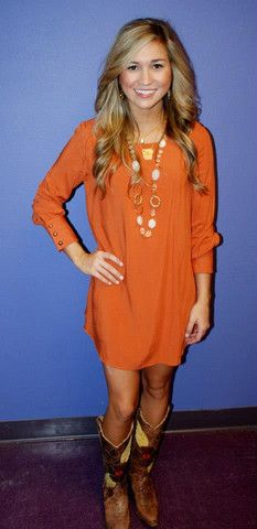 Fall dress - all kinds of adorable clothing on this site | Impressions Boutique and Gifts (online and in Fayetteville, AR)