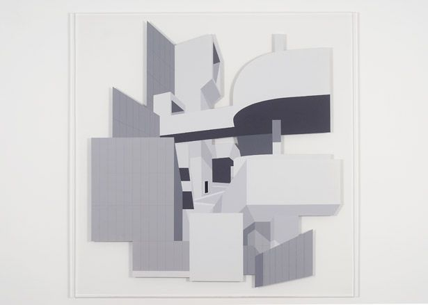 Toby Paterson, 'The University Mega-Structure' by Toby Paterson, 2007. Acrylic on Perspex.