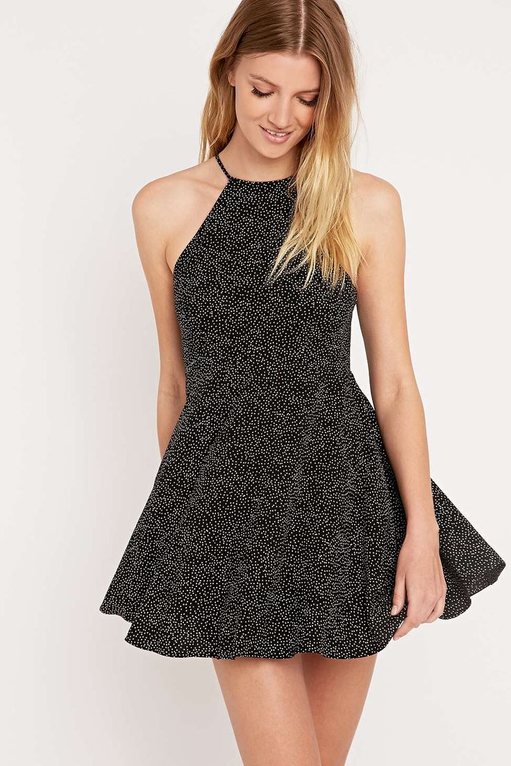 Cooperative by Urban Outfitters Fiona Dress in Black
