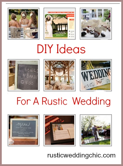 DIY Ideas For A Rustic WeddingDiy Ideas, Excel Diy, Ediy3 Com, Rustic