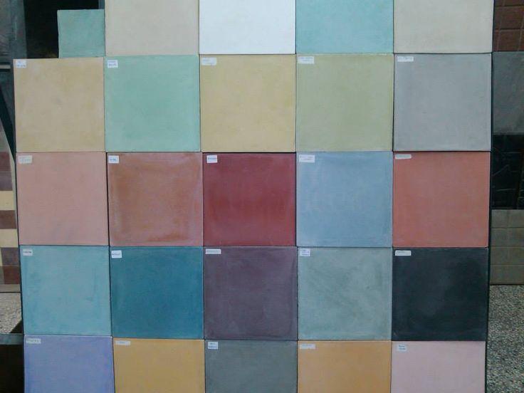 Calcáreos Lisos - Paleta de colores