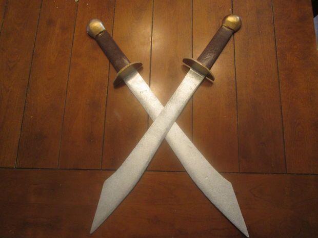 DIY Zuko's Dual Dao Swords