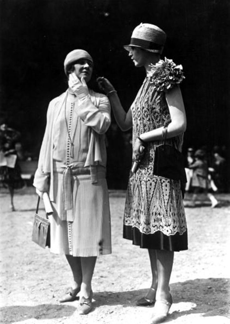 Jacquet Dresses by Seeberger Freres, 1924 on Getty Images.