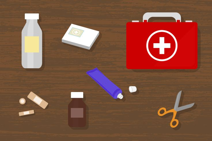 Even though you think that nothing will go wrong on the trip, things happen and it is ALWAYS best to be safe and have the first aid kit on board.