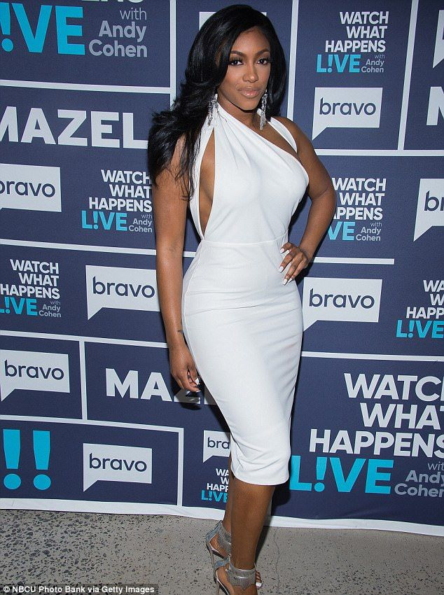 Not talking: Porsha Williams, shown in March in New York City, revealed that she has not spoken to former best friend Phaedra Parks since the RHOA reunion