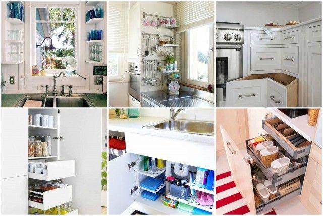 Küche platzsparend einrichten – tolle Ideen für jede Wohnung …