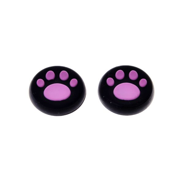 ==> [Free Shipping] Buy Best New arrival 2pcs a lot Pink silicone caps thumbstick grip joystick cover for PS4 Online with LOWEST Price | 32325428693