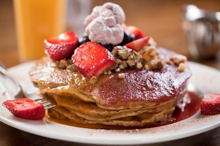 Pumpkin Pancakes returns to Sabrina's menu this weekend :) #Fall #Flavor #Philly
