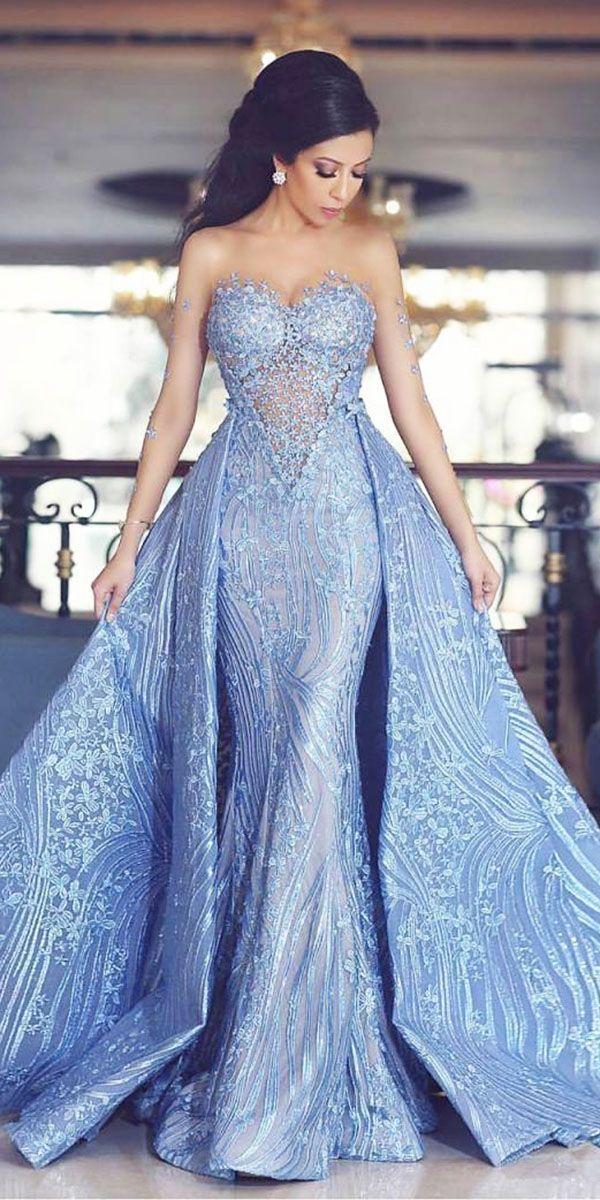 234 best Colored Wedding Dresses images on Pinterest | Wedding ...