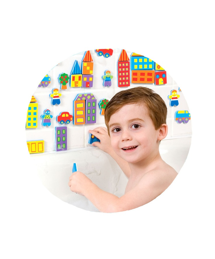 rub a dub city tub sticker set alex toys baby bath toys. Black Bedroom Furniture Sets. Home Design Ideas