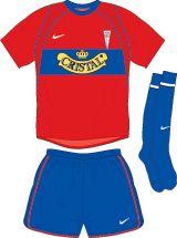 CD Universidad Catolica away kit for 2003.