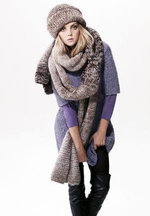 冬にやってみたいマフラーぐるぐる巻き。タイプ別ハイファッションのアイデア☆ 明日のスタイルの参考に♪                                                                                                                                                                                 もっと見る