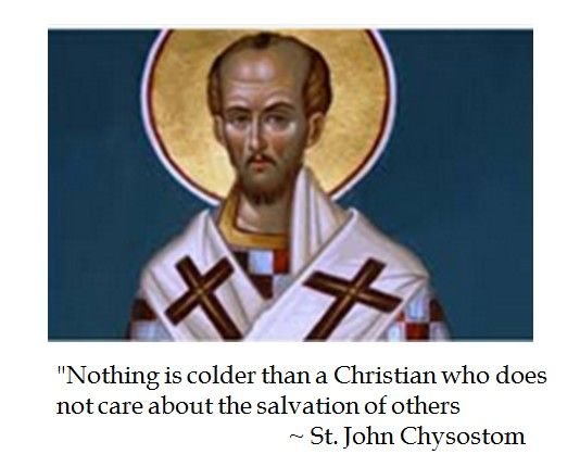 St John Chrysostom on Salvation