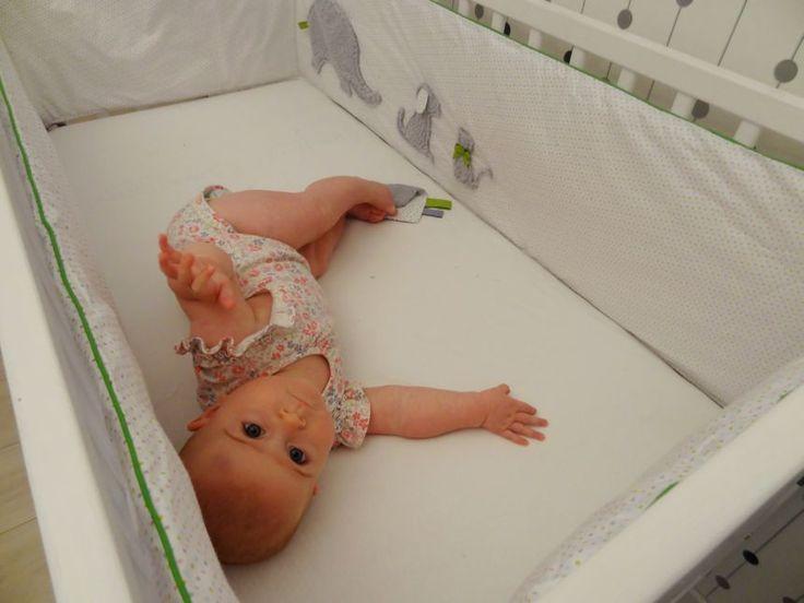 ochraniacz na łóżeczko długi