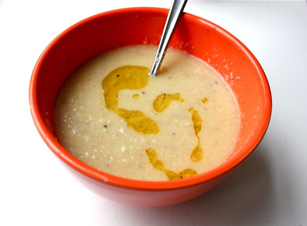 cauliflower and cheddar soup | Food | Pinterest