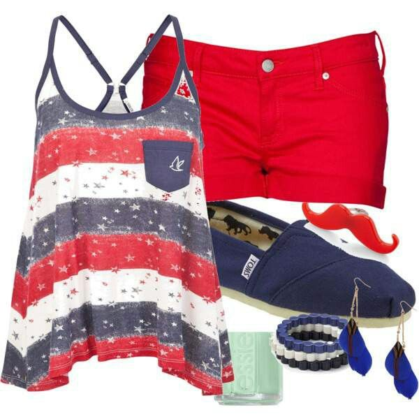 4th of july fashion images
