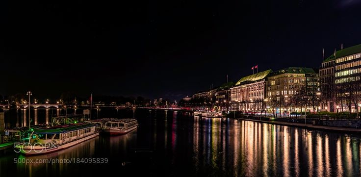 Popular on 500px : An Evening In Hamburg by horstgrimm