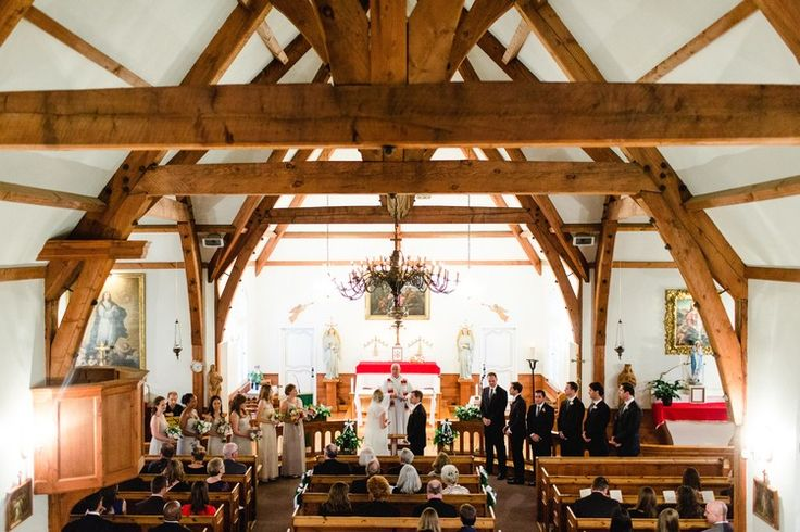 Tuscan in Tremblant — Full Bloom - ceremony - church