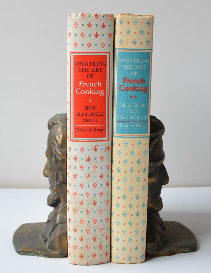 Mastering the Art of French Cooking by Simone Beck, Louisette Bertholle, and Julia Child (Two Volumes)