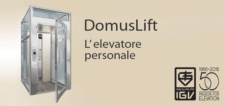 DomusLift, l'elevatore personale. Qual è la tua taglia?