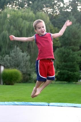 Trampoline Games for Kids. Exercise and Family time for parents!