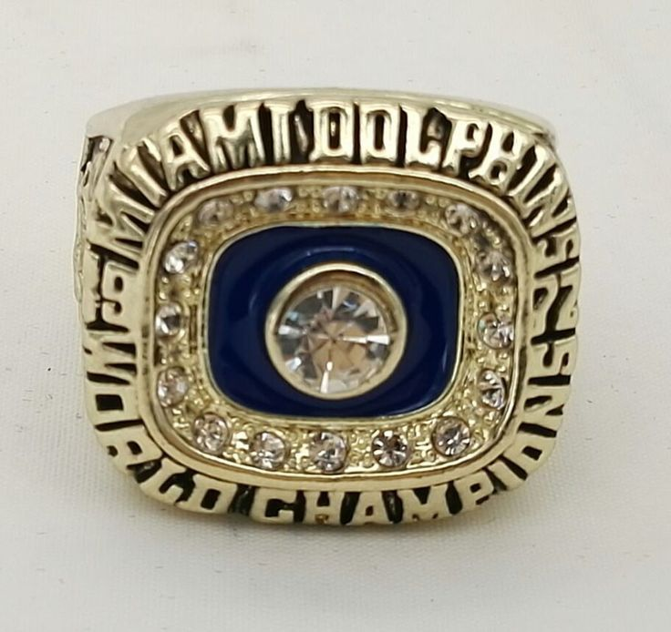 Miami Dolphins Championship Ring 1972