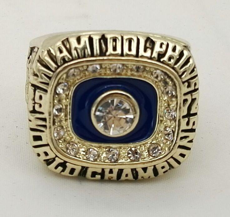 Miami Dolphins Championship Ring 1972