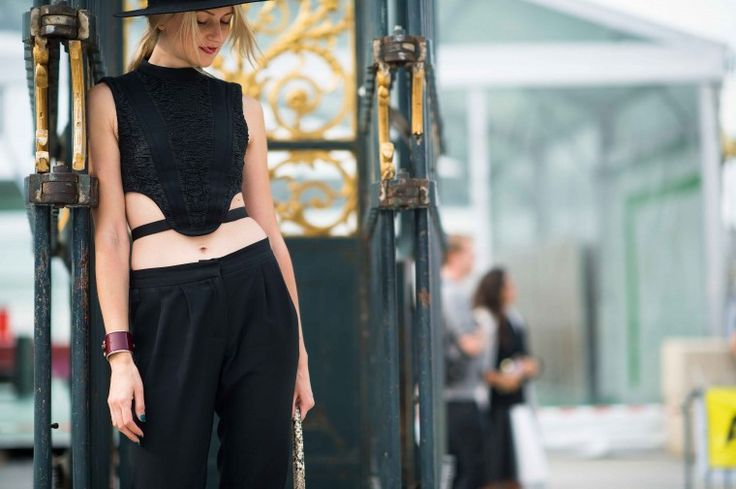 Street Style from Paris Fashion Week Spring 2014 - Paris Fashion Week Spring 2014 Street Style, Day 7