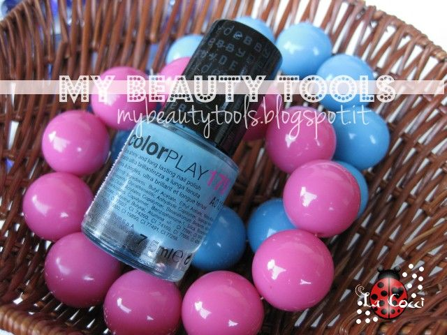Debby Colorplay 179 #debby #colorplay #179 #nailpolish #blue http://mybeautytools.blogspot.it/2013/09/debby-smalto-colorplay-n179.html