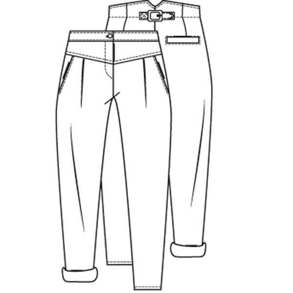 Brilliant To Draw Jeans Step By Step Fashion Pop Culture FREE Online Drawing